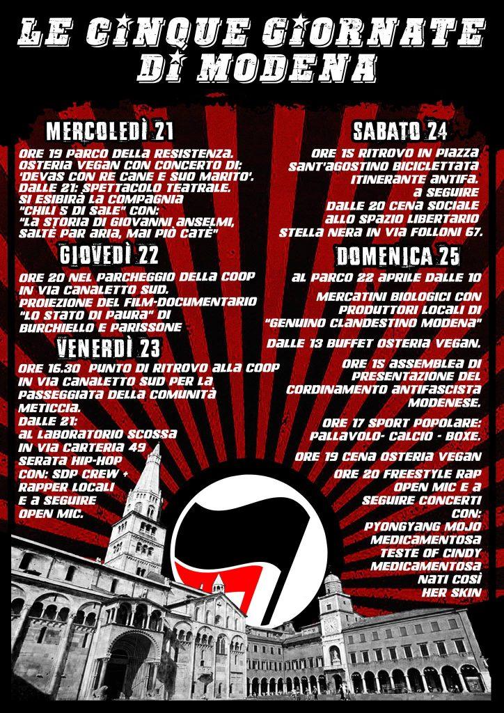 Le cinque giornate di Modena